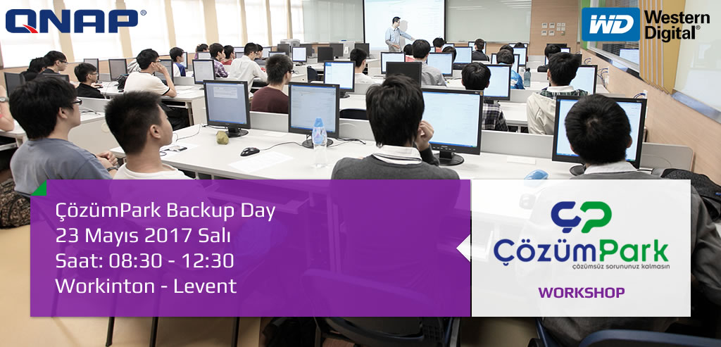 ÇözümPark Backup Day