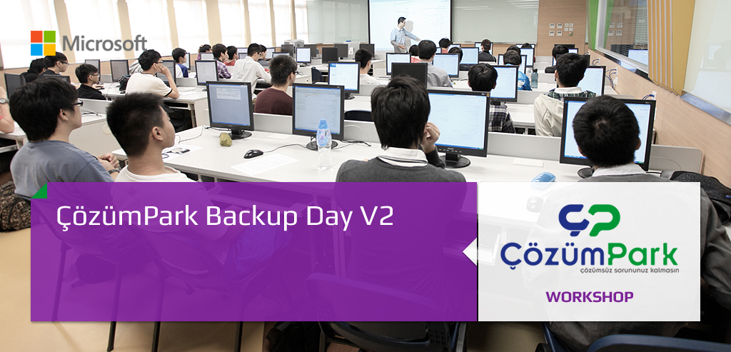 ÇözümPark Backup Day V2