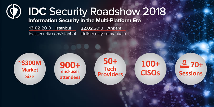 IDC Security Roadshow 2018 - Ankara