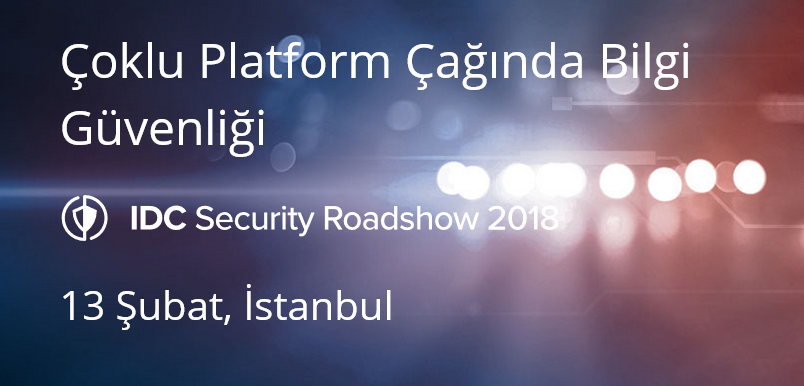 IDC IT Security Roadshow 2018