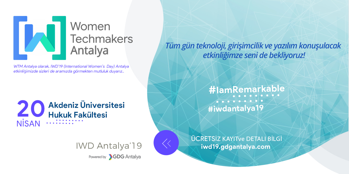 Women Techmakers Antalya